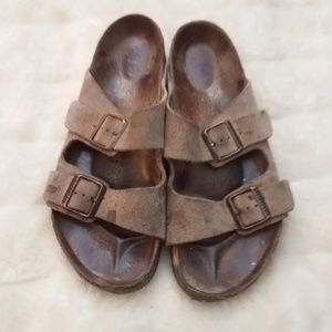 Birkenstock suede leather sandals 43